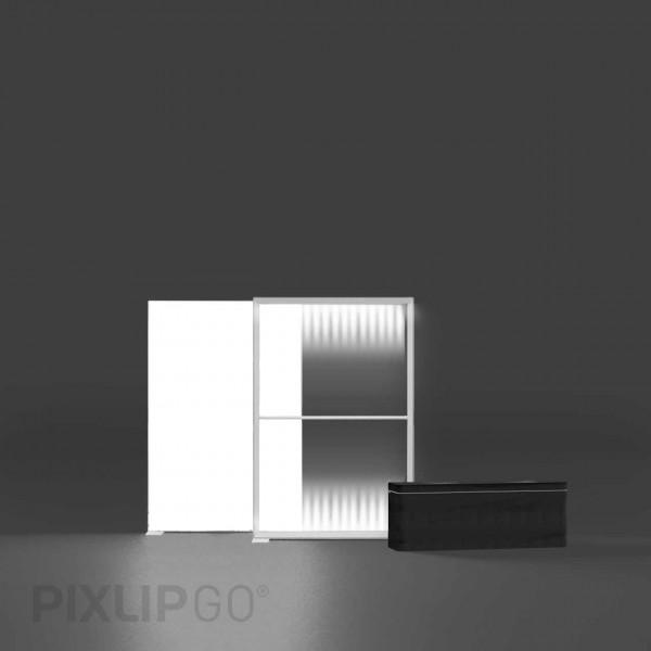 PIXLIP GO | Lightbox 100 cm x 150 cm indoor | einseitig