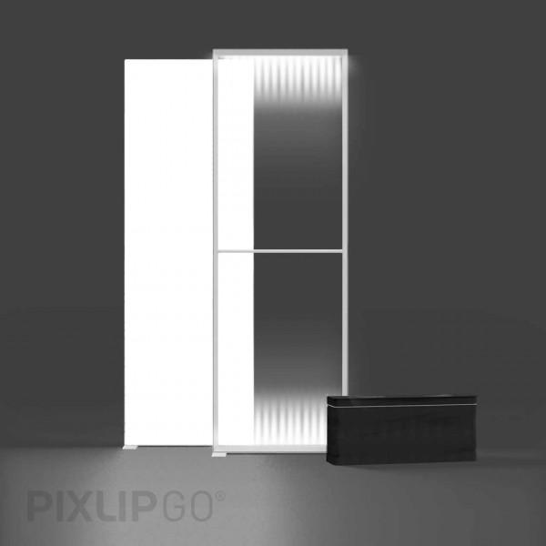 PIXLIP GO | Lightbox 100 cm x 250 cm indoor | einseitig