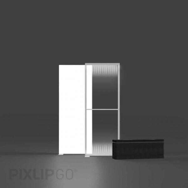 PIXLIP GO | Lightbox 85 cm x 200 cm indoor | einseitig