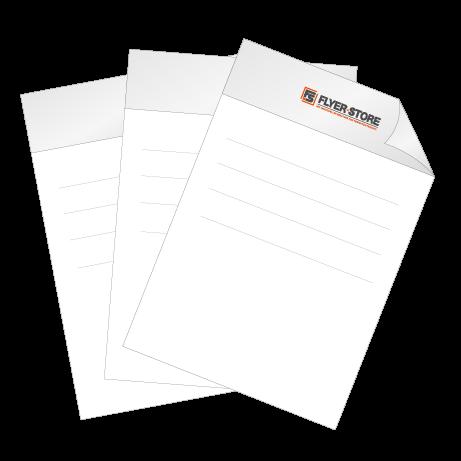 Briefpapier DIN-A4 – einseitig