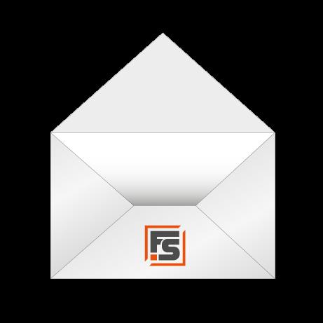 Briefumschläge ohne Fenster einseitig (4/0)