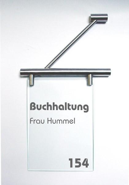 Fahnenschild | System Seeshaupt | 15 cm x 15 cm