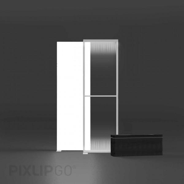 PIXLIP GO   Lightbox 85 cm x 225 cm indoor   einseitig