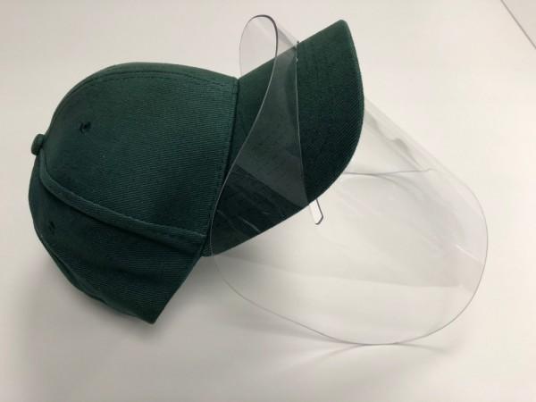 Gesichtsschutzmaske PlexyCap | Schild | unbedruckt